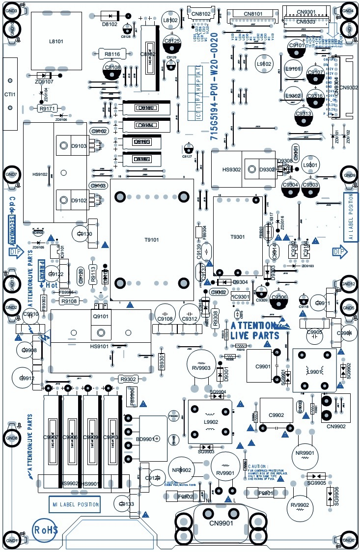 Philips 42pfl4007g78 Smps Schematic 715g5194 Psu 32inch And Power Supply Circuit Diagram Block Dc Converter Boost Converters Reset Of Repaired Ssb A Very Important Issue Towards From Service Repair Shop On Component Level Implies