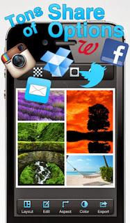 تحميل تطبيق تحرير وتعديل وإنشاء الصور لنظام أى او إس مجاناً Pic Stitch iOS-IPA 3.9