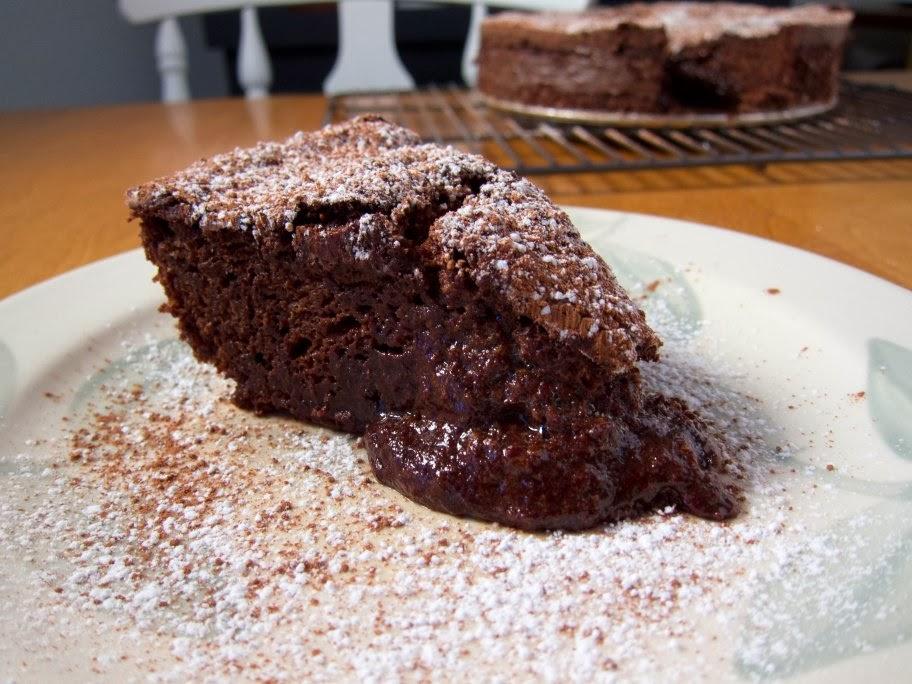 Gavin's Cooking: Chocolate Fallen Souffle Cake