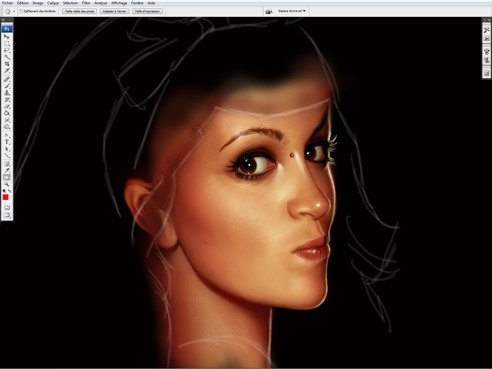 how to avoid muddy colors in digital painting
