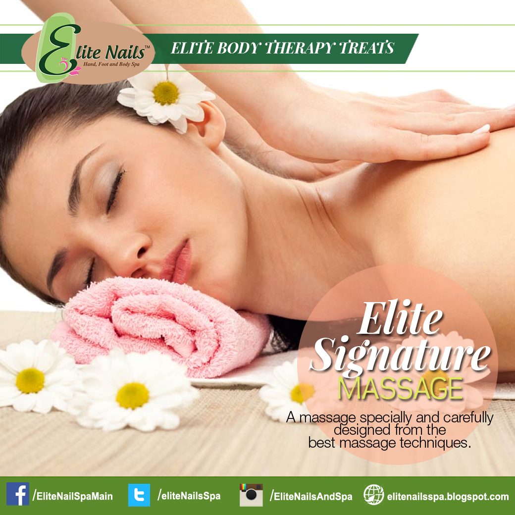Elite Nails Hand, Foot and Body Spa: Drive Away Stress with Elite ...