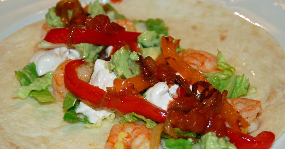 Southern Lady's Recipes: Shrimp Soft Tacos