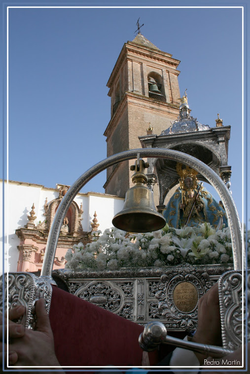 LA VIRGEN DE LOS SANTOS EN SU VENIDA A ALCALÁ EN 2010