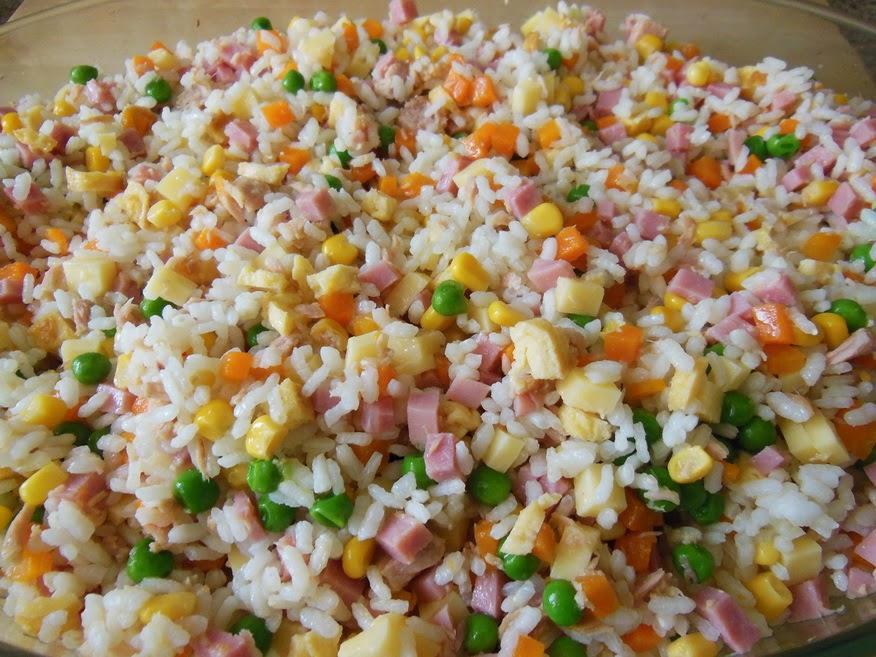 La cocina de natibel arroz en ensalada - Ensalada de arroz light ...