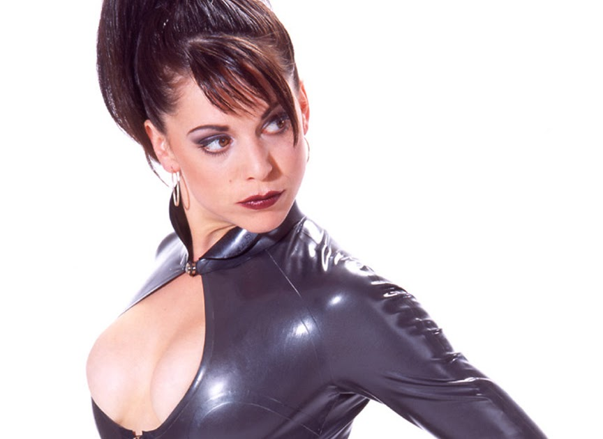 All Free Wallpapers Emily Booth Tight Rubber Catsuit Ps