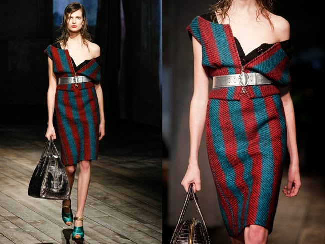 Prada RTW 2013 AW Pencil Skirt Suit