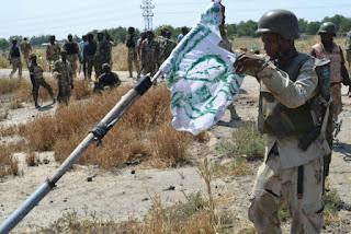 Nigerian Military clear Boko Haram camp