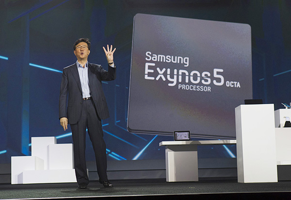 "A New Generation Of Samsung Processors ""Exynos 5 Octa"""