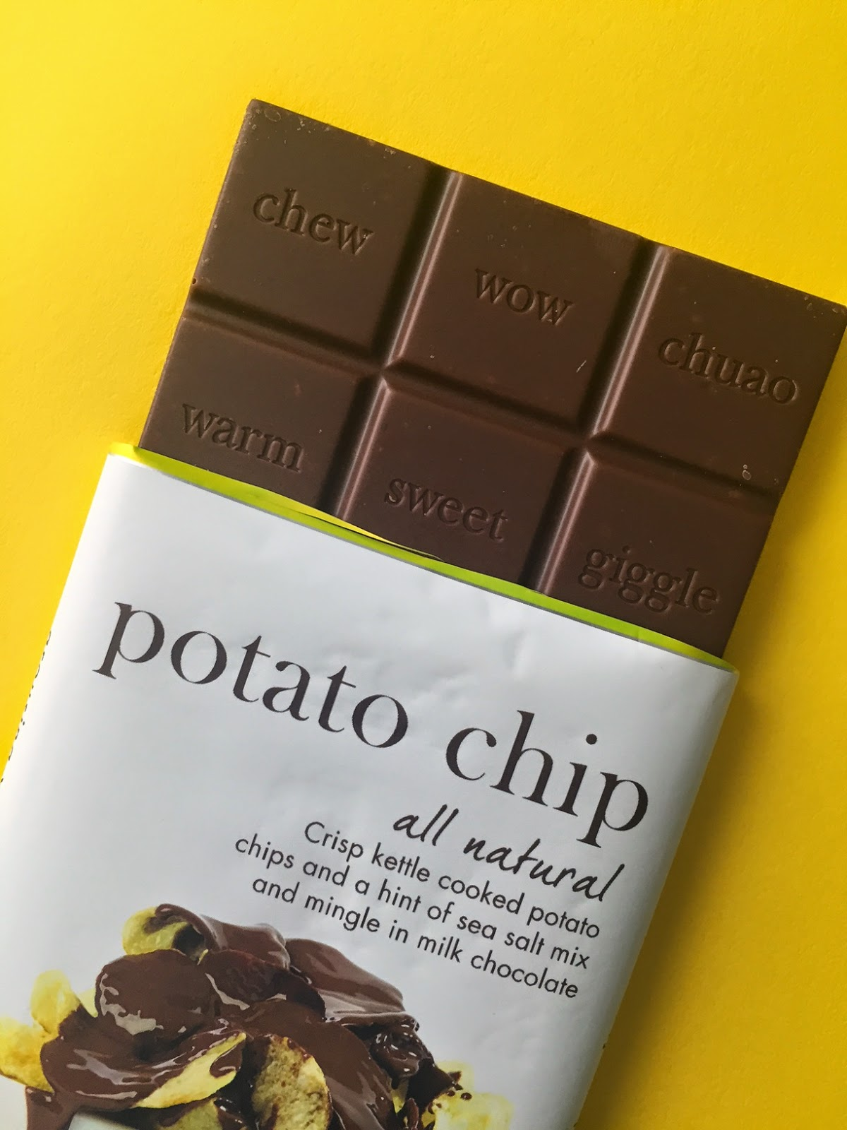 The Ultimate Chocolate Blog: Potato Chips in Milk Chocolate ...