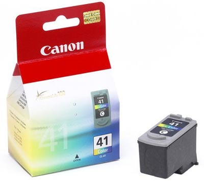 Tinta ( Ink) Cartridge 41 Black Canon