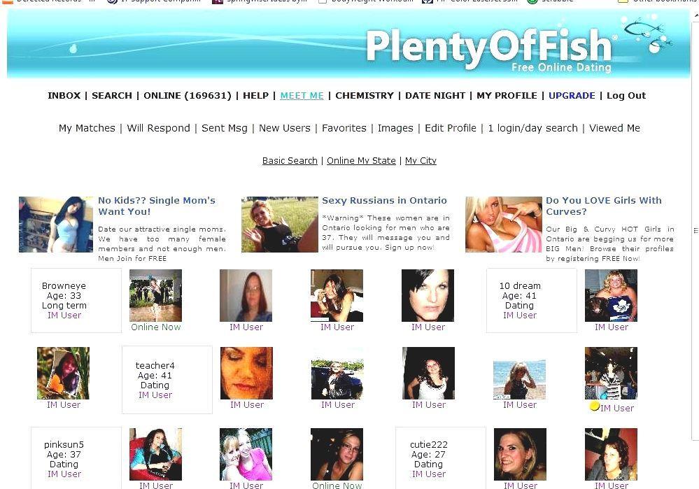 join plenty of fish