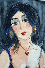 "Autoportrait "" Nuit Indigo """