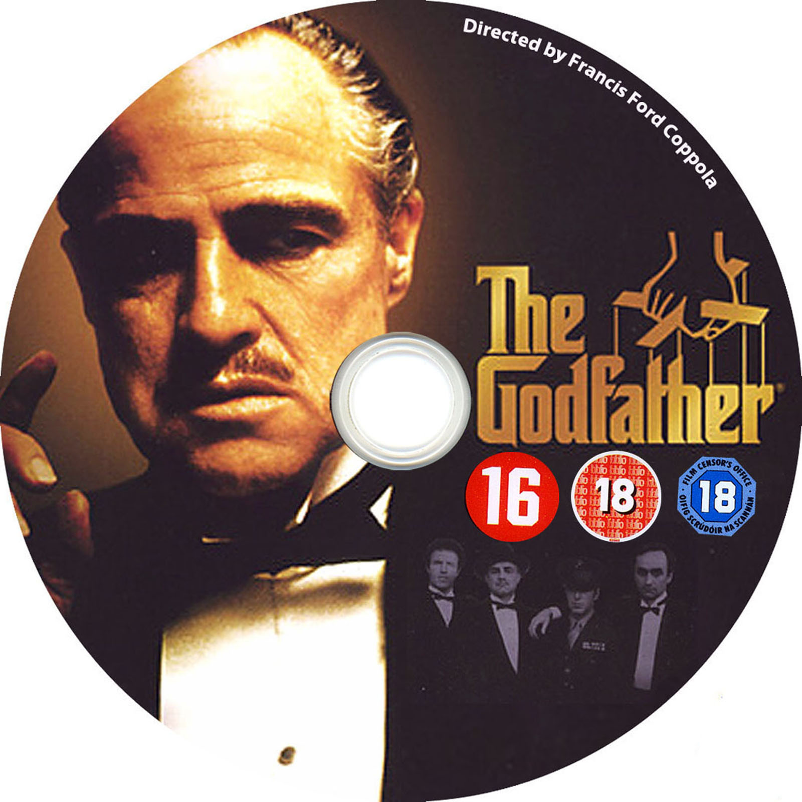 The Godfather DVD Label Art