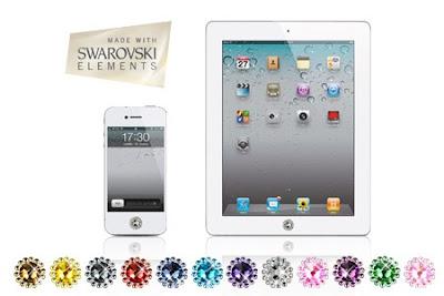 Deal: Relookez votre iPhone, iPad ou Samsung avec Deux (9,90€) Cinq (19,90€) ou Dix (29,90€) Bijoux pour smartphone made with Swarovski Elements (Jusqu'à 88% de réduction)