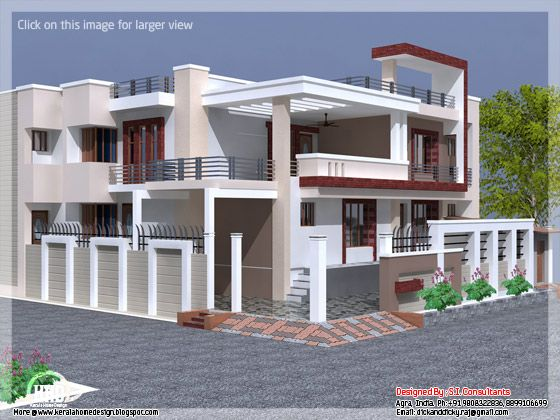 October 2012 kerala home design and floor plans House plans india with two bedrooms