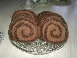 rullekake med sjokoladekrem oppskrift