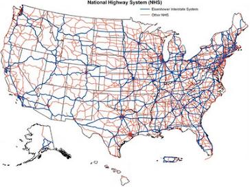 US Wind & Solar Power Generation Map