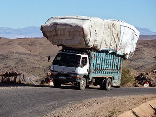 Overloaded truck in South Africa photo by dewet
