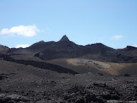 Approach to the Sulfur Mines, Isabela Island, Galapagos