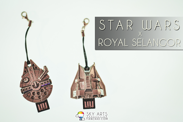 STAR WARS x ROYAL SELANGOR Pewter made USB Thumb-drives