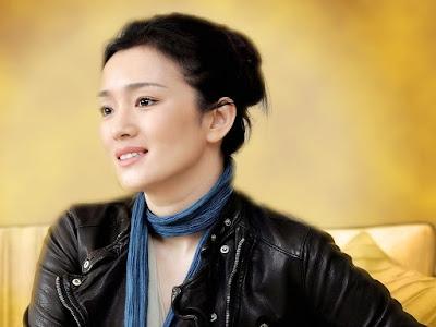 Gong Li Unseen Wallpaper
