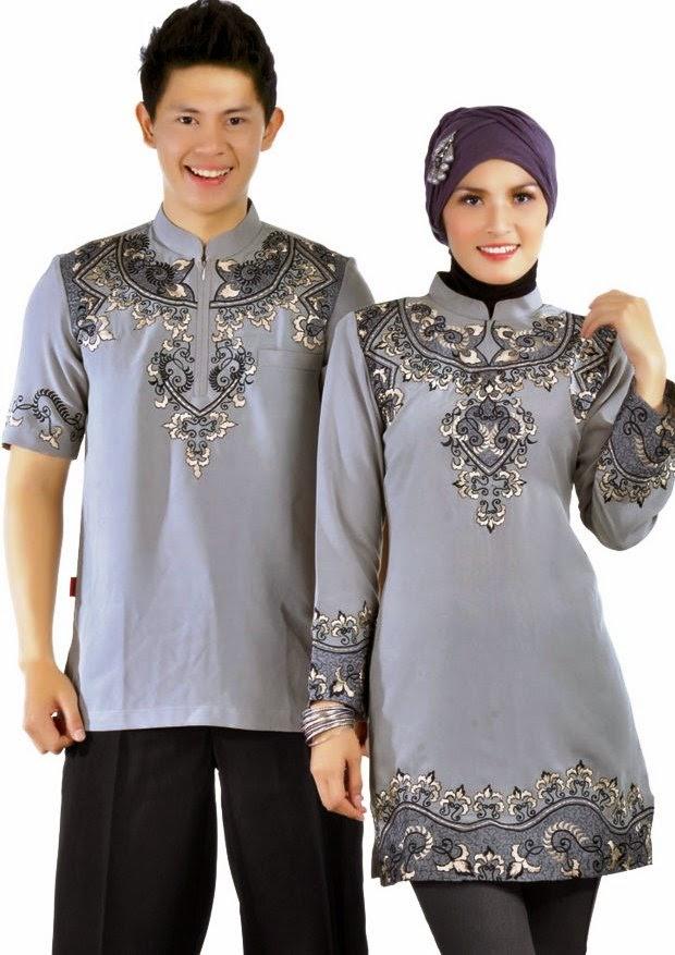 Photo Pasangan Baju Muslim Terbaru 2015
