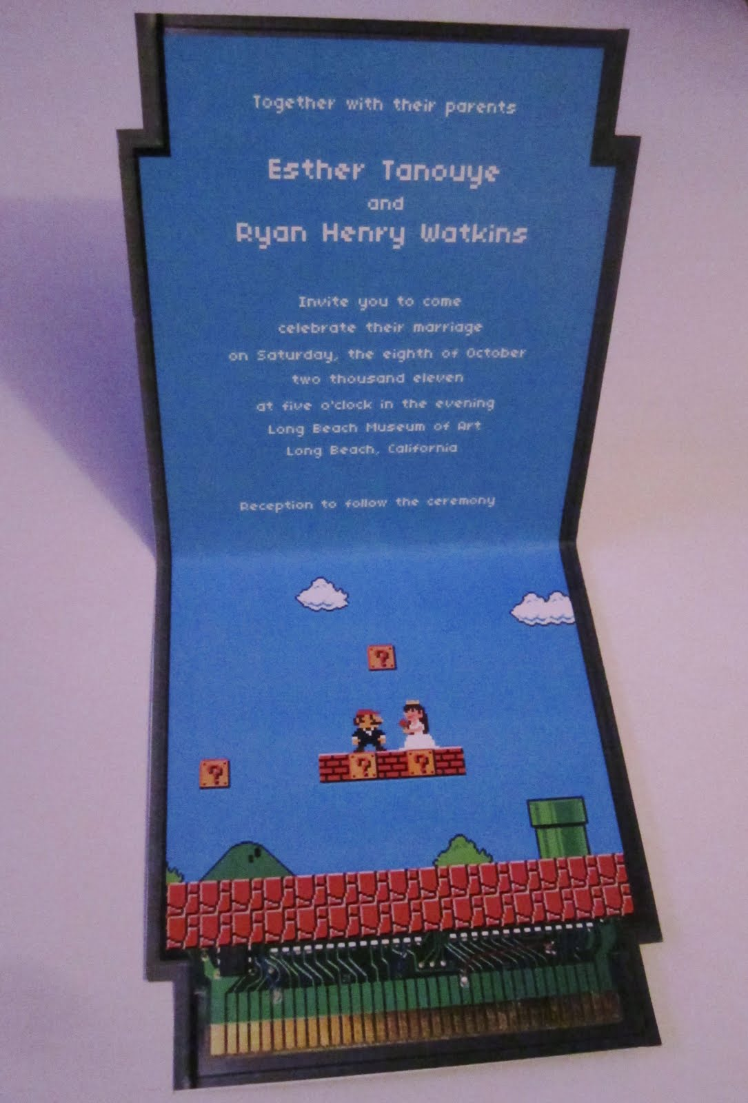 Larry t quachs art blog wedding invitations wedding invitations stopboris Image collections