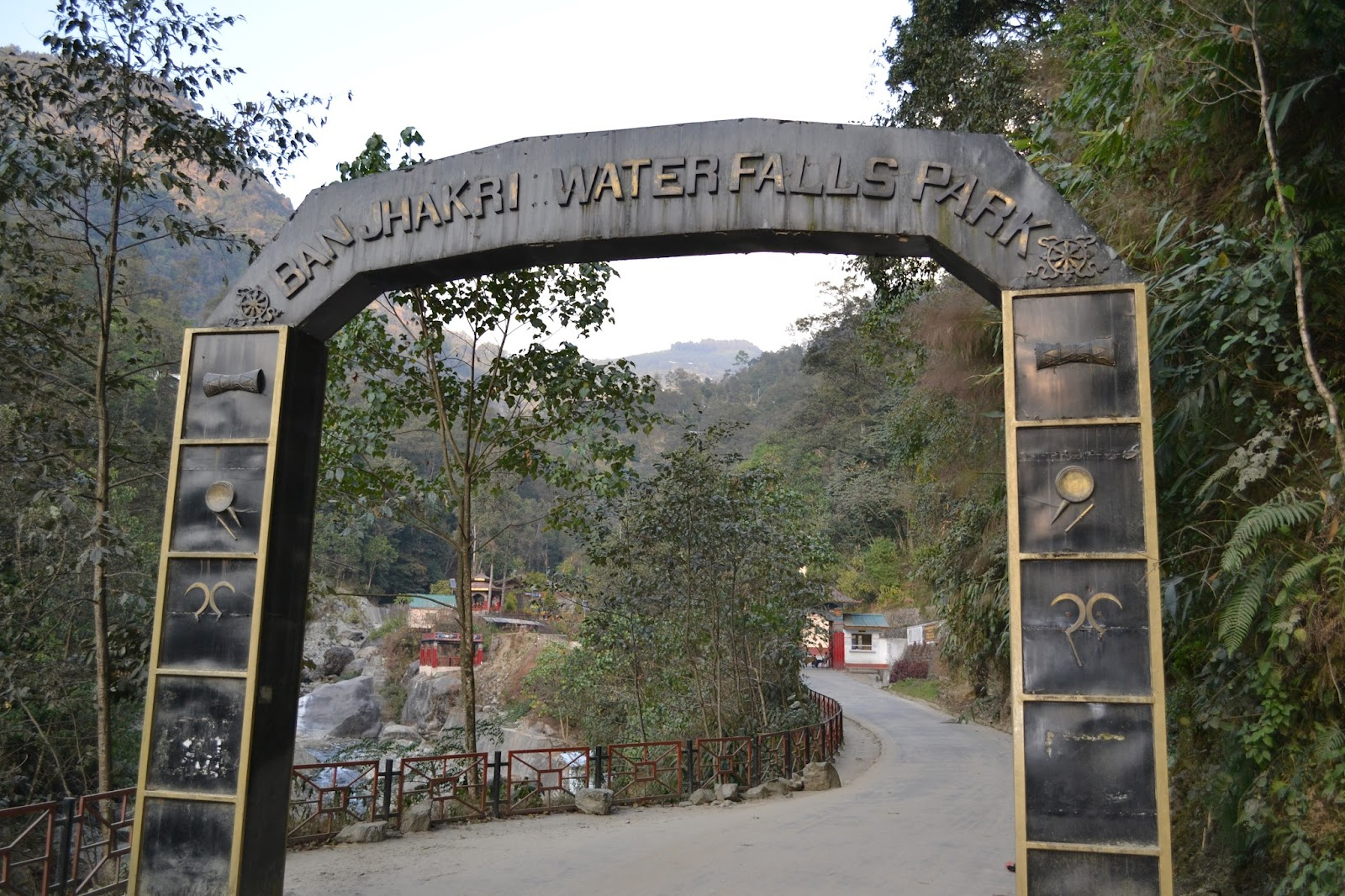 Entrance of Banjhakri waterfall