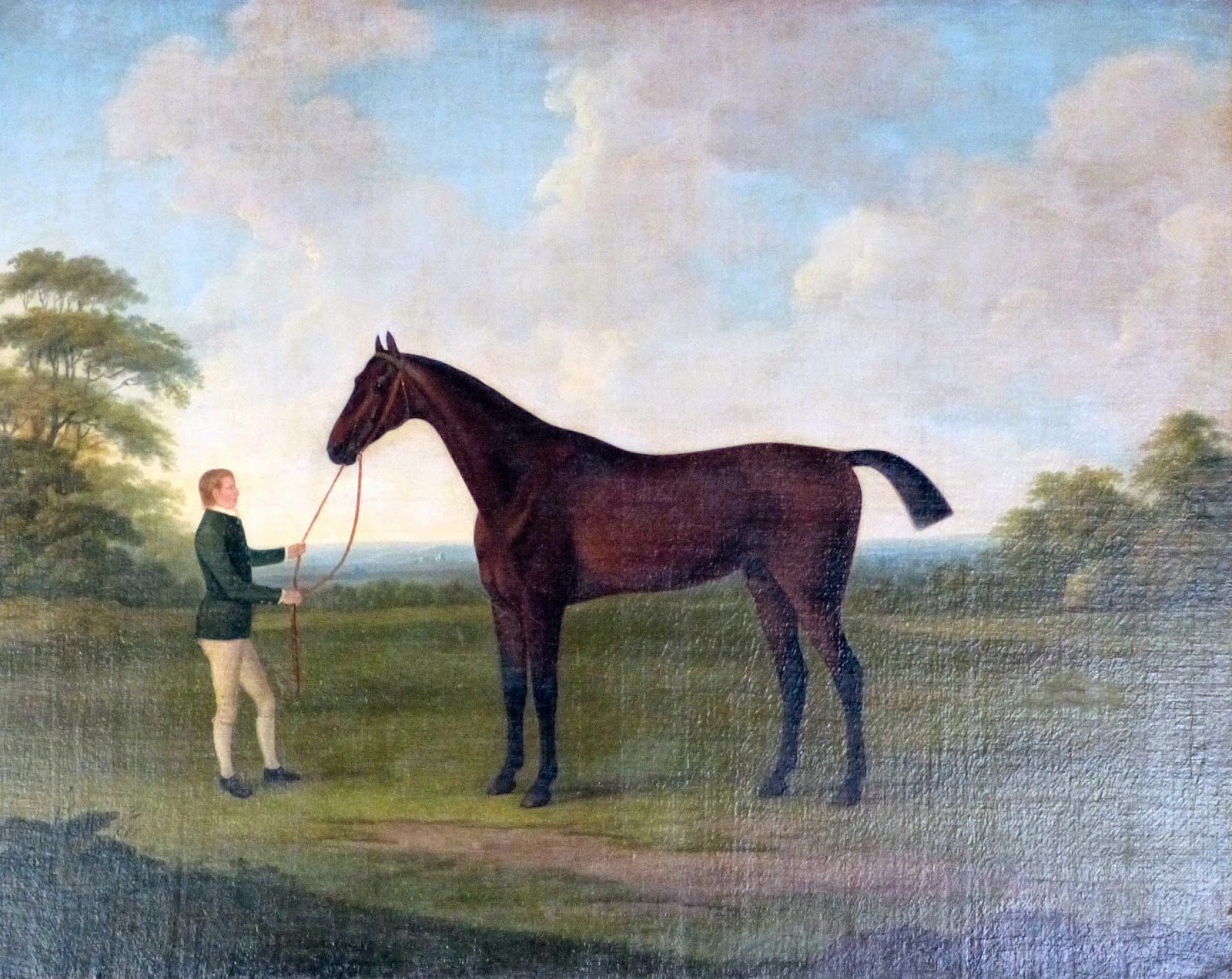 """Saltram"" by John Nost Sartorius (1783)"