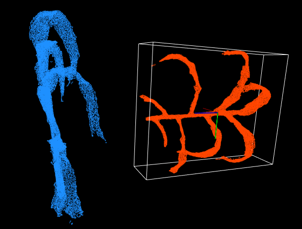 Find minimum oriented bounding box of point cloud (C++ and PCL)