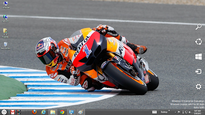 Casey Stoner MotoGp 2013 Theme For Windows 7 And 8