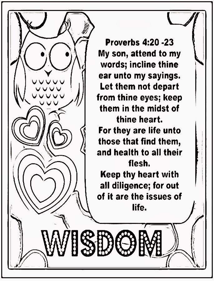 Image Result For Coloring Pages Proverbs