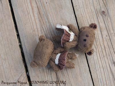 мишка малышка тедди шоколад