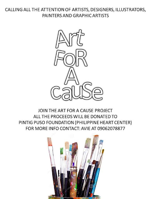Pintig Puso Foundation: Art For A Cause