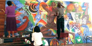 Foto: La Quetzeta | Convocatoria para realizar un Mural Colectivo en la Ciudad de México