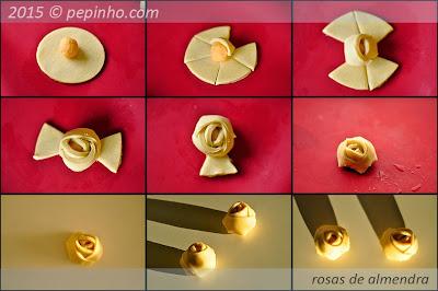 Cómo hacer unas rosas con hojaldre