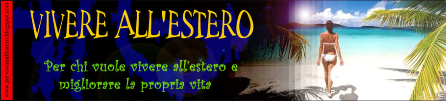 VIVERE ALL&#39;ESTERO