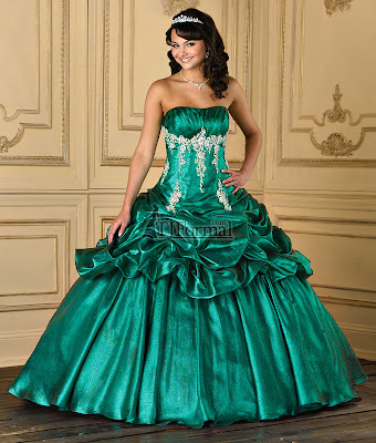 Dark+Green+Quinceanera+Dresses