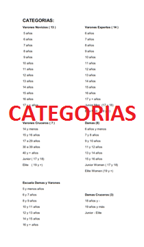 PINCHA CATEGORIAS