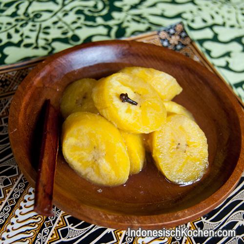 kochbanane rezept indonesisch