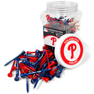 Philadelphia Phillies MLB Golf Tee Jar