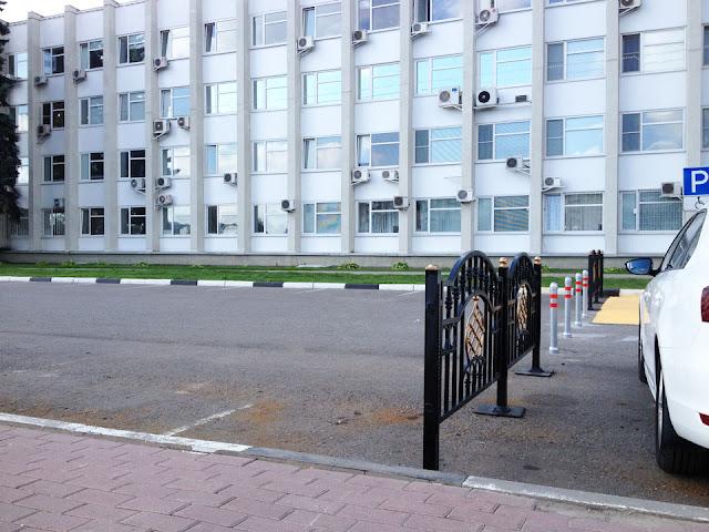 Фотофакт: Пешеходную зону создали у здания администрации в Сергиевом Посаде