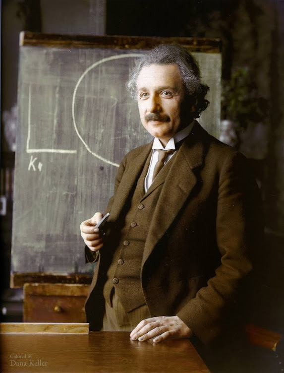Albert Einstein in 1921.