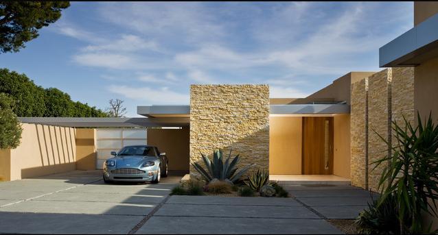 Fachadas casas modernas fachadas de casas peque as con - Decoracion de cocheras modernas ...