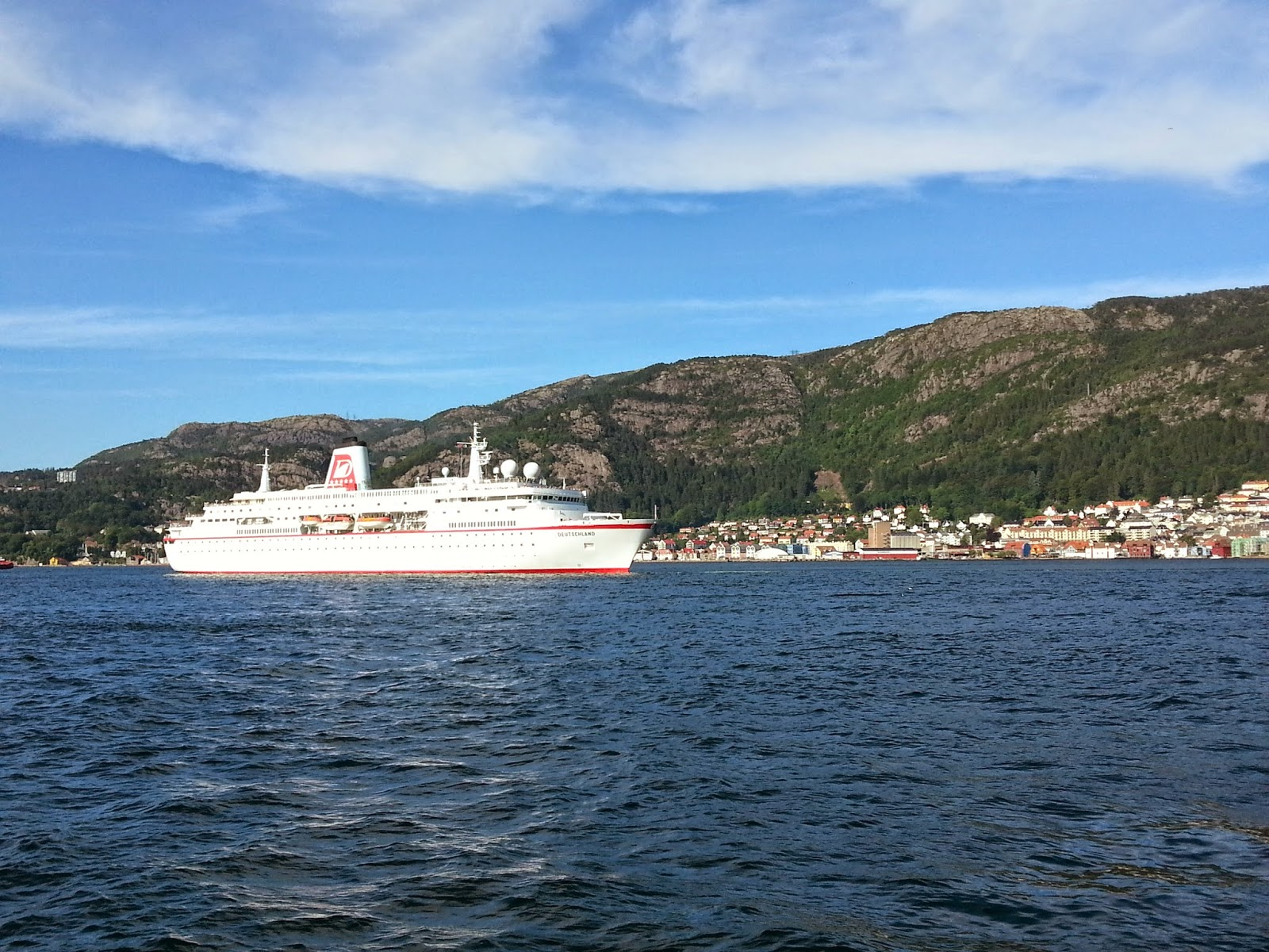Cruise Ship MS Deutschland in Bergen