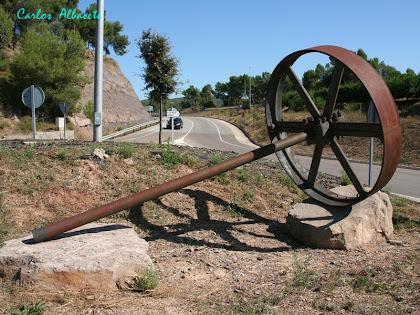 Roda transmissora a la rotonda de l'Ametlla de Merola. Autor: Carlos Albacete