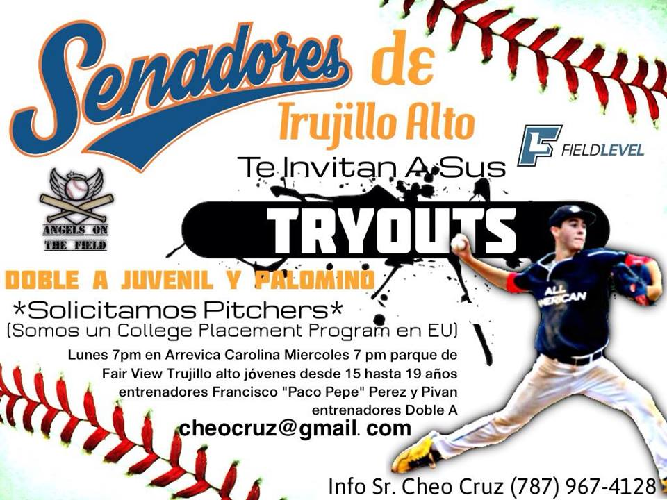 TRY OUT BEISBOL COLEGIAL