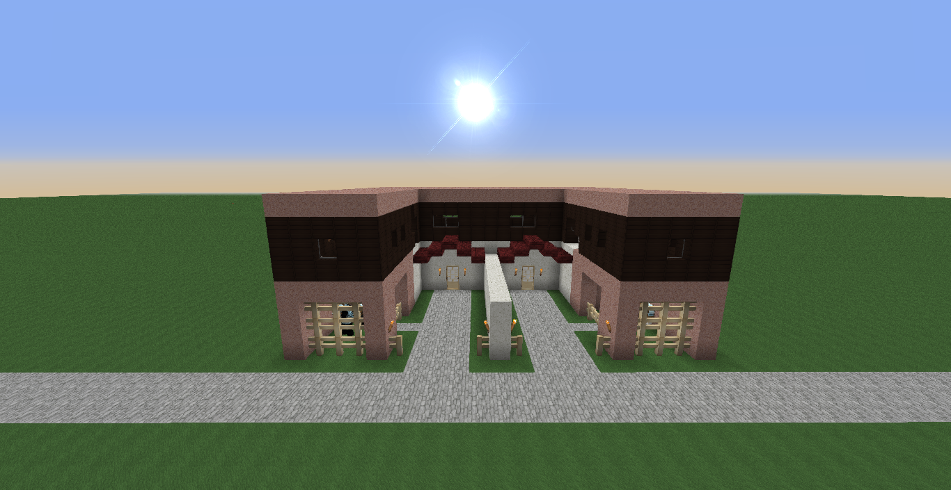 Ralker gamer casa moderna no minecraft 1 8 1 for Casa moderna 1 8