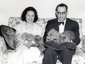 Guimarães Rosa, a esposa e os gatos