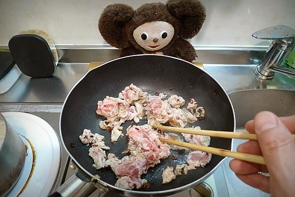 豚レタスみそ炒めの作り方(1)